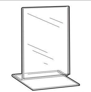 T-talpas asztali laptartó