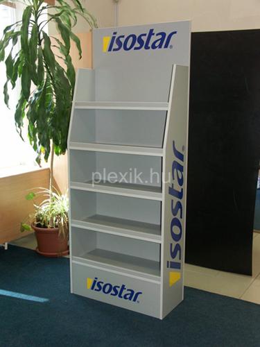 Plexi display polc