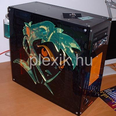 Plexi számítógépház