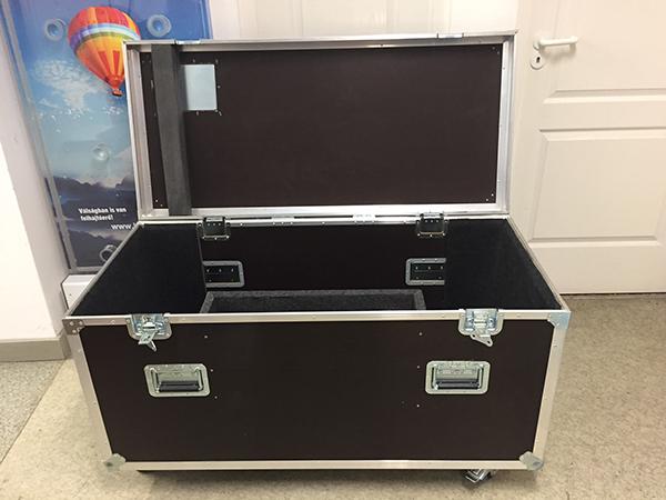 Rack szekrény pulpitus szállításhoz