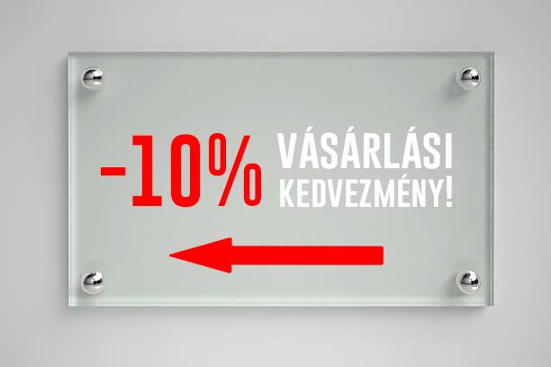Vásároljon most 10%-kal olcsóbban!