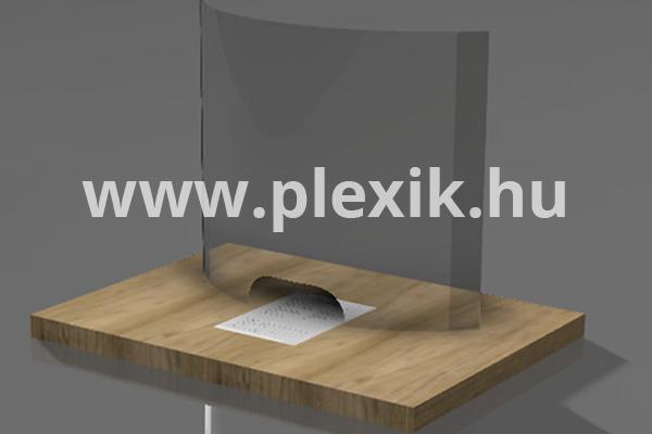 Plexi védőfal