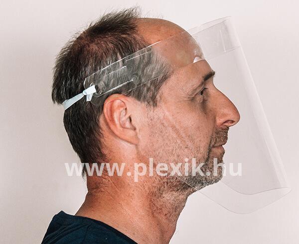 Plexi arcvédő pajzs