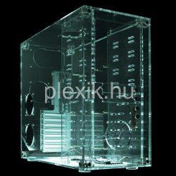 Plexi számítógépház, pc ház